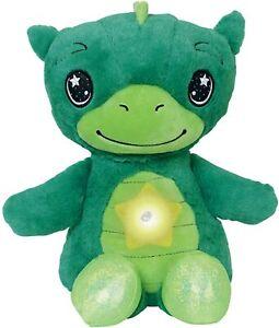 Star Belly Dream Lites, Stuffed Animal Night Light, Dreamy Green Dino