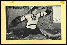 1945-1964 BEEHIVE GROUP 2 TURK BRODA TORONTO MAPLE LEAFS HOCKEY PHOTO