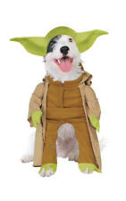 Official Star Wars Yoda Dog Pet Costume Dress up Halloween Novelty Outfit S