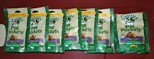 New listing Greenies Pill Pockets Dog Lot of 7 Duck & Pea Unexpired New pkgs Health Medicine