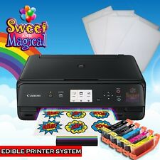 Canon MGTs5020Black - Edible Printer Bundle - Ink & Frosting Sheets 6