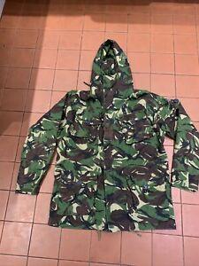 Good Used British Army SAS Smock Windproof Woodland DPM Camouflaged Size 180/112