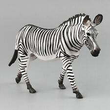 Zebra Horse Model Africa Wild Animal Educational Decor Collector Kids Gift Toy