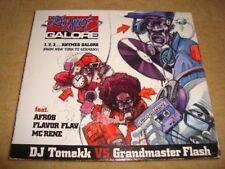 DJ TOMEKK vs GRANDMASTER FLASH ft AFROB FLAVOR FLAV -1,2,3 Rhymes Galore DIGIPAK