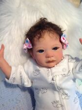 "Reborn Baby Girl Liberty By Laura Lee Eagles 20"" 3.5lbs Lifelike Very Cute COA"