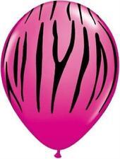 Globos de fiesta color principal rosa ovalada
