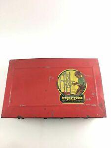 1938 Vintage  A. C. Gilbert ERECTOR Set No. 6 1/2 Electric Motor 4491