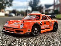 Carrozzeria BODY 0111 - PORSCHE 911 1/8 SCALE GT RC CAR BODY