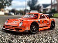 Carrozzeria BODY 0111 - PORSCHE 911 1/8 SCALE GT RC CAR BODY