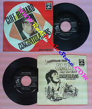 LP 45 7'' CLIFF RICHARD Congratulations High and dry 1968 italy no cd mc dvd
