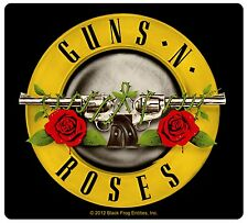 Sticker Guns N' (and) Roses Band Name & Logo Art Heavy Metal Rock Music Decal