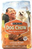 1 Bag Purina Dog Chow Chicken Beef Little Bites Small Dog Recipe 3.5lbs BB3-2022