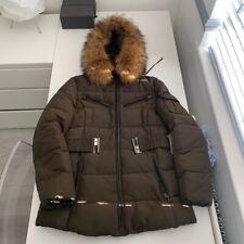 racoon fur hood coat