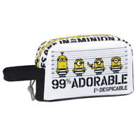 Minions Insulated Breakfast Cooler Lunch Bag School Snack Box B&W OFFICIAL