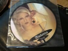 MADONNA . FEVER . PICTURE DISC  . 1993  . MINT . UNPLAYED