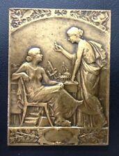 Bronze ART - NOUVEAU AMERICAN Congres medal by Lafleur, BUENOS AIRES / M88