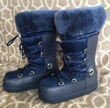 UGG Australia Women's US 6 Cottrell Blue Waterproof Snow Thinsulate Fur Boots