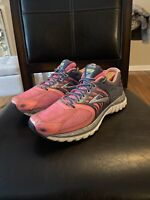 Womens Brooks Glycerin 11 Running Shoes Size: 9.5 Color: Gray  Fuchsia