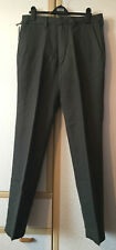 M&S Mens Grey Premium Linen Cotton Tailored Fit Trousers 32/33 BNWT