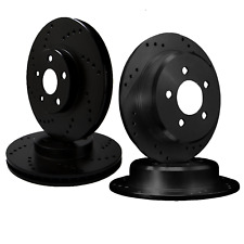 [FRONT & REAR SET] DRILLED ONLY PERFORMANCE BRAKE ROTORS ATL048927