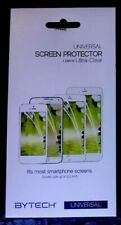 1 Pack Bytech Universal Ultra-Clear Smartphone Screen Protector New