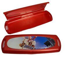 Daily Disposable Coloured Contact Lens Lenses Travel Mirror Case Skate Boarding