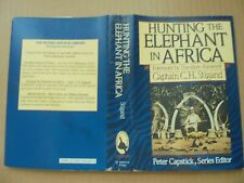 New ListingVintage - Hunting The Elephant In Africa by Captain C.H. Stigand 1St Ed. Hb/Dj.