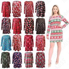 Christmas Viscose Dresses All Seasons
