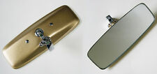 MGB and MGB GT Interior Rear View Mirror with Gold Painted Back, BHA4806