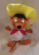 "Ace Warner Brothers Looney Tunes Speedy Gonzalez Mouse Plush Animal 9"" New"