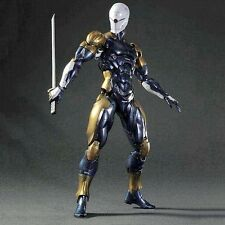 Play Arts Kai Metal Gear Solid MGS Ninja Gray Fox Frank Yeager PVC Figure Model