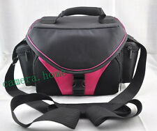 vecolo style Photo camera bag case for Canon eos 60D 5D 700D 6D 7D 70D 600d pink