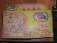 80's Happy Sisters Doll Hair Dresser Salon Set Mib Greek El Greco