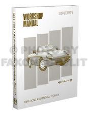 Alfa Romeo Spider Repair Shop Manual 1991 1992 1993 1994 Veloce Service Book CE