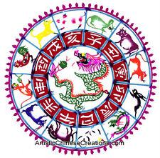Chinese Folk Art Traditional Chinese Paper Cuts: Chinese Zodiac Symbols - Dragon