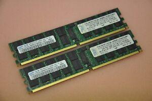 IBM 8GB (2x 4GB 2Rx4 DDR2 PC2-3200R CL3 ECC REG) RAM kit 41Y2857/30R5145/43X5030