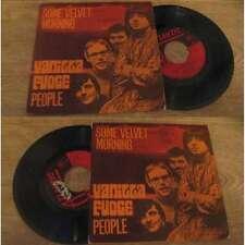 VANILLA FUDGE - Some Velvet Morning Rare Italian PS 7' Heavy Psych 69'
