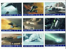 Quotable Star Trek Voyager Complete 9 Card U.S.S Voyager Chase Sert V1 to V9