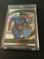 2020 Topps Gold Label George Brett MLB Legends Relic 22/50 KC Royals HOF