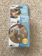 Safety 1st Ultra Secure Cabinet & Door Latches Nib 4 Pack