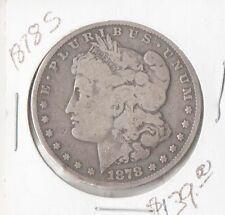 1878 S Morgan Silver Dollar, FREE SHIPPING