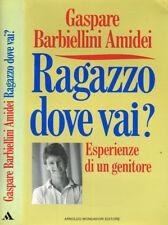 RAGAZZO DOVE VAI?. ESPERIENZE DI UN GENITORE. 1990. IED.