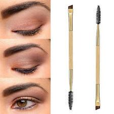 Neuf Double cils clos le sourcil pinceaux maquillage beauté cosmétiques outil