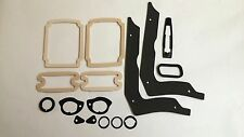 1967 67 Chevelle Paint Gasket Seal Kit SS Tail Light Parking Lens Door Handle