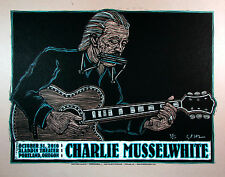 Charlie Musselwhite Poster Original 100 Hand-Signed Silkscreen by Gary Houston