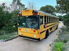 2001 Thomas School Bus, Pusher Engine