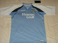 Manchester City Soccer Jersey Reebok Top  Football Shirt  hm BNWT