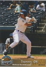 2016 Midland RockHounds Danny Oh RC Rookie Oakland Athletics