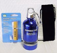 CONNECTED KENNETH COLE 7 ML EDT SPRAY REFILLABLE ATOMIZER+TOTE HOLIDAYS R COMING