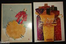 Catalogue des Vins Nicolas 1992 - Philippe Favier + le Noël de Nicolas 1996